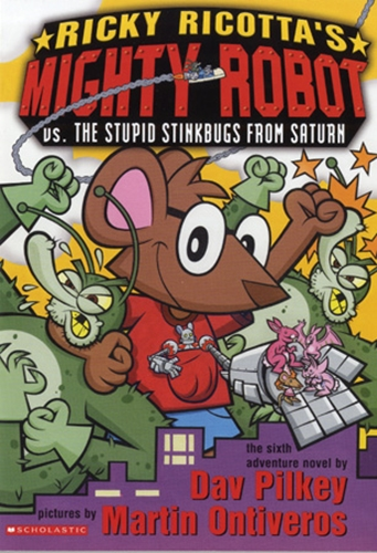 #6 Ricky Ricotta's Mighty Robot vs. The Stupid Stinkbugs from Saturn